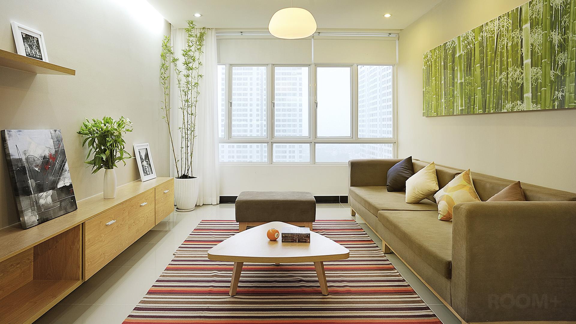 200 triệu đồng hoàn thiện nội thất căn hộ 100m2 - VnExpress