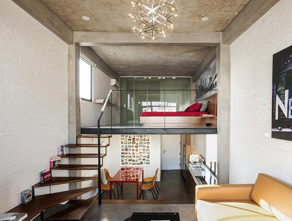 3 tầng thông nhau trong căn hộ Sài Gòn - VnExpress