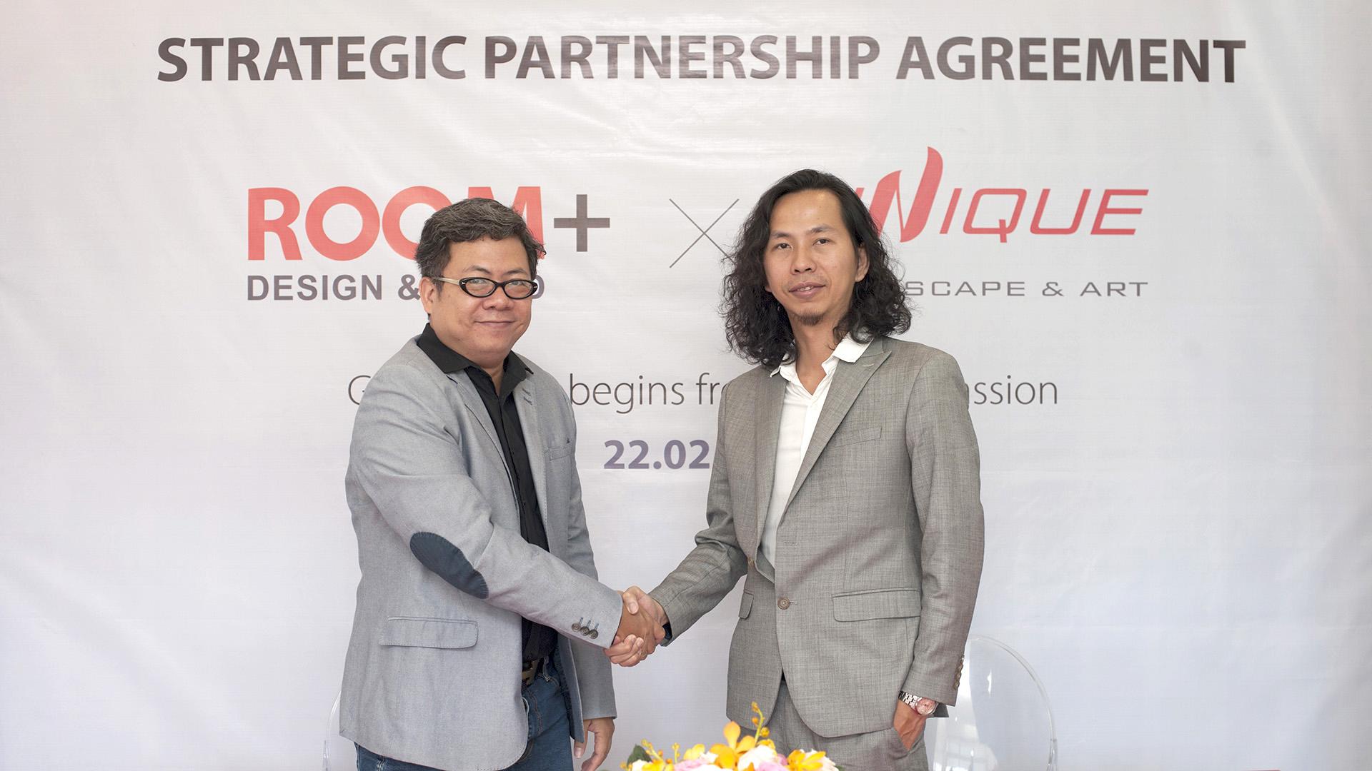 ROOM+ Design & Build & Unique Landscape & Arts (ULA) Strategic Partnership Signing (22/02/2020)