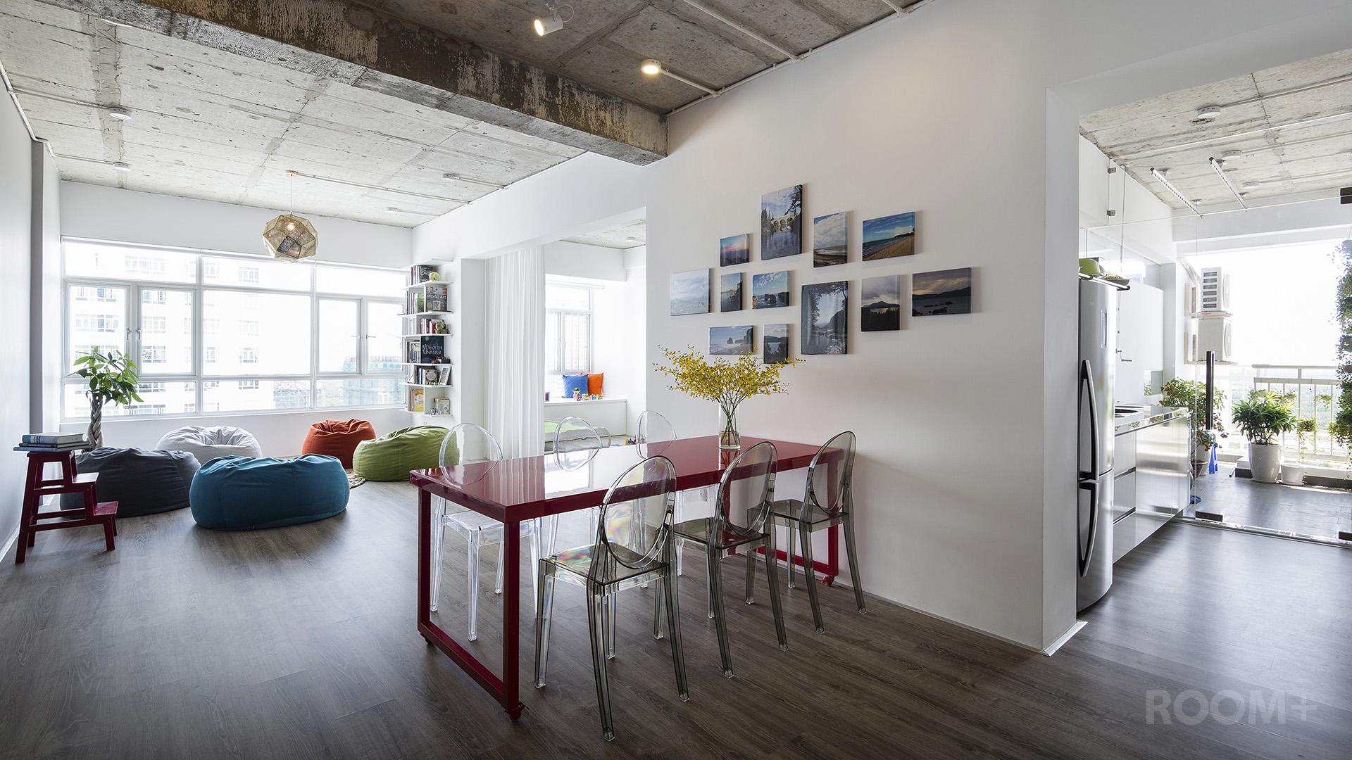 Thiết kế tiện nghi mà tiết kiệm trong căn hộ gia đình trẻ - Vnexpress