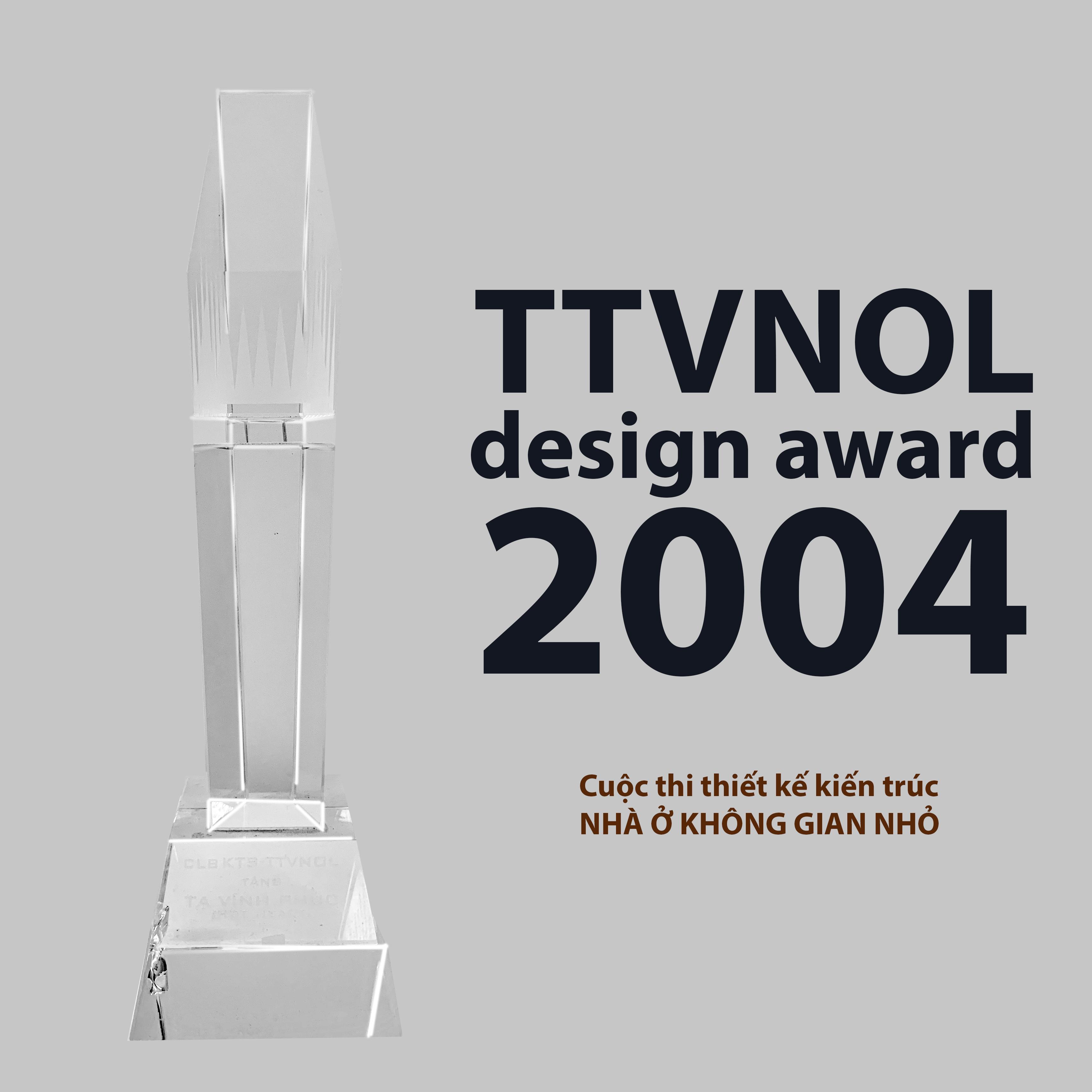Giải thưởng thiết kế TTVNOL 2004