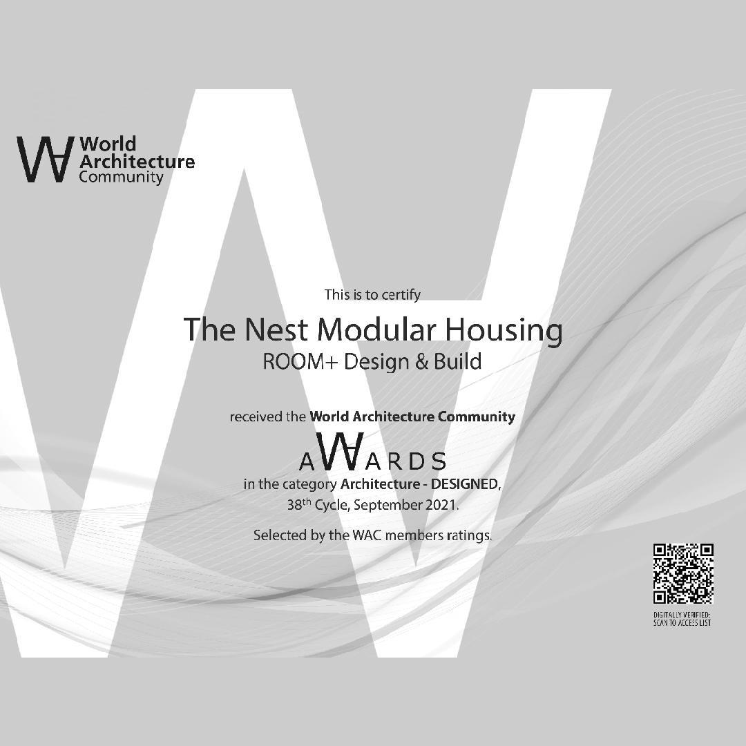 World Architecture Community Awards (WA Awards)