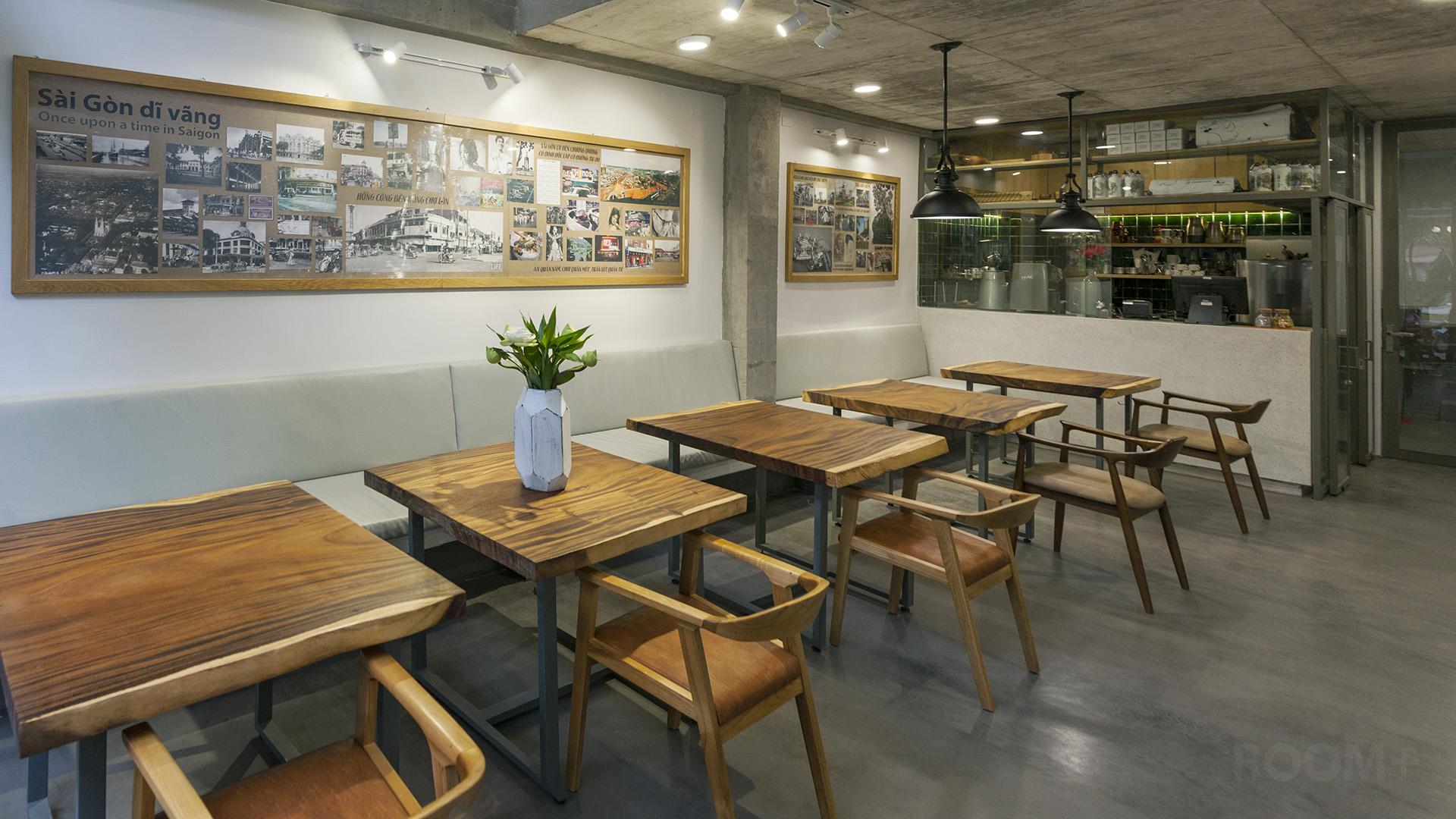 Café & Văn phòng Work'in Saigon