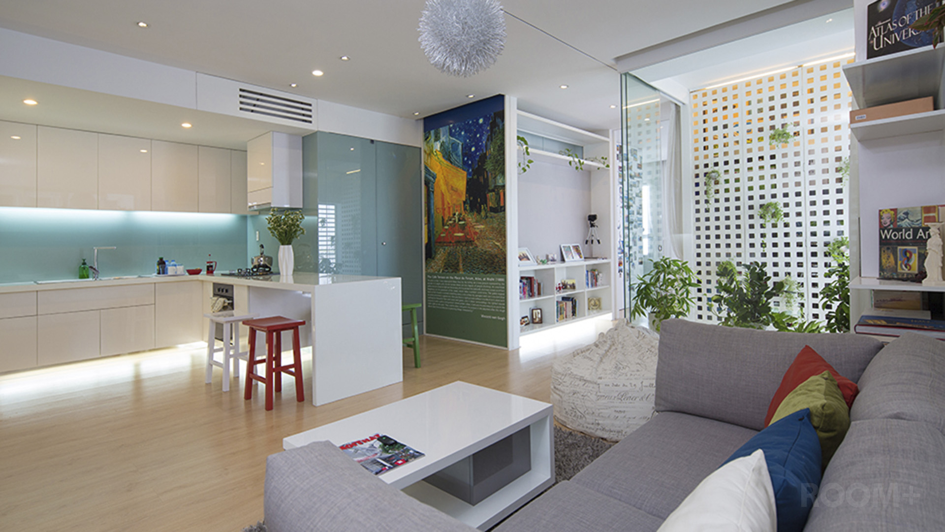 ROOM+ Light-box Apartment (3)